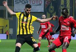 İstanbulspor - Ümraniyespor: 1-1