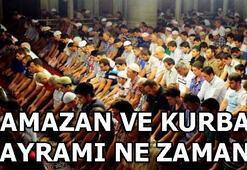 Ramazan ve Kurban Bayramı ne zaman Bayram tatili kaç gün olacak