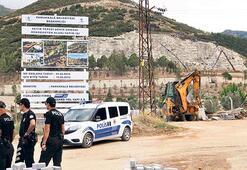Vinç sepeti yere  çakıldı: 3 işçi öldü