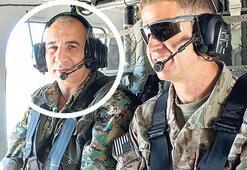 Son dakika: O hain ABDli generalle aynı helikopterde