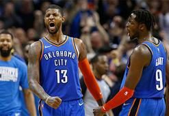 Oklahoma, Westbrook ve Georgela kazandı