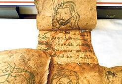 Ele geçen derilerde İncil'den bölümler