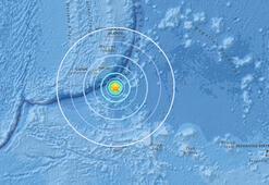Guamda 6.4 büyüklüğünde deprem
