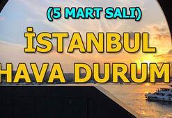 İstanbul hava durumu (5 Mart Salı) Meteorolojiden İstanbul açıklaması: Yarın...