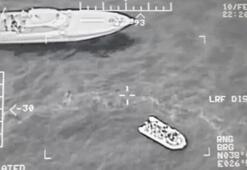 Ege Denizinde hareketli anlar 118 kişi yakalandı
