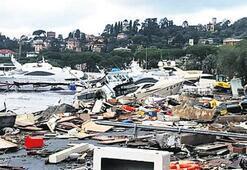 İtalya'da fırtına 9 can aldı Kaybolanlardan biri Türk