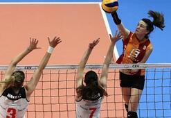 Galatasaray altın setle veda etti