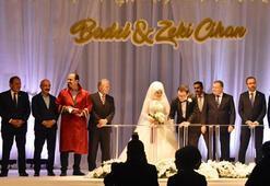 Spor camiası Baykanın düğününde buluştu