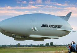 Futbol sahası büyüklüğünde en uzun hava aracı üretime geçiyor