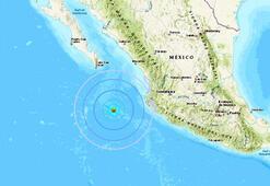Meksika açıklarında 5.5 büyüklüğünde deprem