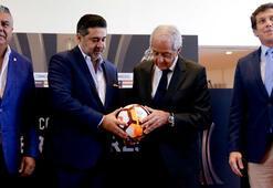 CONMEBOL Başkanı patladı