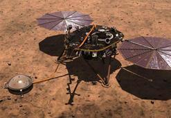 NASAnın InSight adlı uzay aracı Marsa indi İşte ilk kare