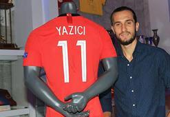 Yusuf Yazıcı, milli formasını Trabzonspor Müzesine hediye etti