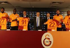 Galatasarayda yeni transferler imzaladı Cengizden flaş açıklamalar...