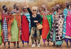 Yonca Evcimik, Kenyada bir fili evlat edindi