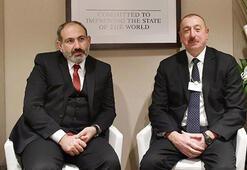 Aliyev ve Paşinyan Davosta görüştü