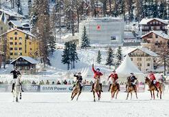 Zenginlerin kış rotası St. Moritz