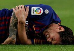 El Clasico öncesi Barcelonaya Messi şoku