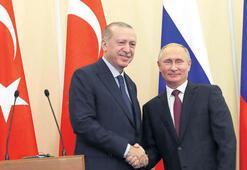 Erdoğan bugün Rusya'da