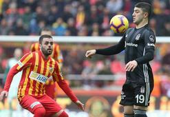 Beşiktaşın santrforları deplasmanda kayıp