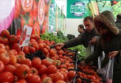 Tanzim satışa 14 bin ton meyve ve sebze sağlandı