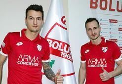 Boluspor, Vukadinovic ve Finkle sözleşme imzaladı