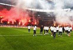 Galatasaraydan taraftara açık idman