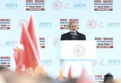 Bakan Turhandan banliyö tren hattı açıklaması
