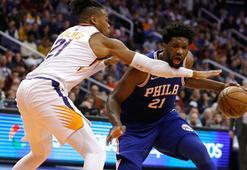Philadelphia 76ersı Embiid taşıdı