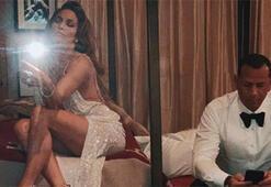 Jennifer Lopez'den gecenin sonu pozu