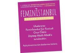 Uluslararası Kadın Şiir Festivali İstanbul'da