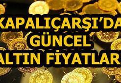 Altın fiyatları bugün ne kadar Kapalıçarşıda güncel gram ve çeyrek altın fiyatları