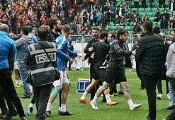 Amed Sportif Faaliyetler-Sakaryaspor maçında gerginlik