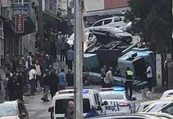 Trabzonda korku dolu anlar
