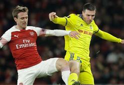 Arsenal rahat turladı