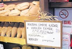 50 ekmek her gün 'askıda'