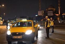 Ehliyeti olmayan taksici yakayı ele verdi