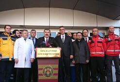 Bakan Koca çöken binada yaralananların son durumunu açıkladı