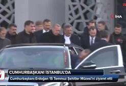 Cumhurbaşkanı Erdoğan 15 Temmuz Şehitler Müzesinde