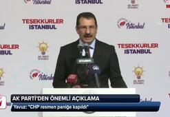 AK Partiden sayımı durduran CHP açıklaması