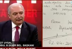 İstanbul Büyükşehir Belediye Başkanı Mevlüt Uysaldan dosya iddialarına cevap