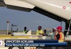 Yıkılan Mozambik'e BM yardımları ulaştı