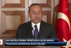 Çavuşoğlundan Venezuela açıklaması