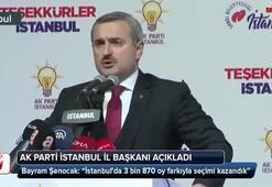 AK Partiden flaş İstanbul açıklaması