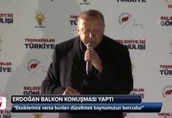 Cumhurbaşkanı Erdoğandan balkon konuşması