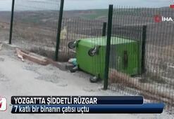 Yozgat'ta şiddetli rüzgar