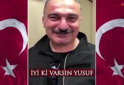 Cumhurbaşkanı Erdoğan paylaştı: İyi ki varsın Yusuf
