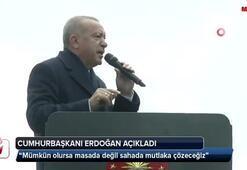 Cumhurbaşkanı Erdoğan: Seçimden sonra ilk iş...