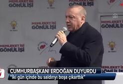 Cumhurbaşkanı Erdoğandan Haymanada açıklamalar