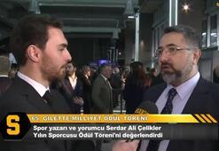 Serdar Ali Çelikler: Halk oylaması ile verildiği için ödüller çok anlamlı